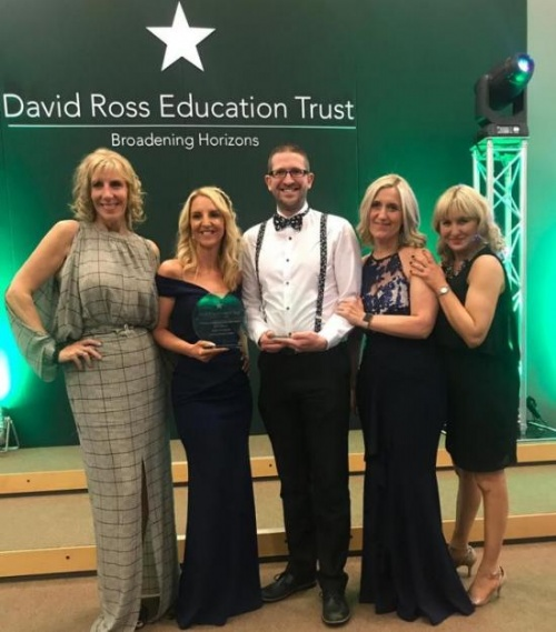 Winners of the David Ross Education Trust Inspiration Awards for Teaching Excellence 2018 announced